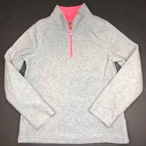 Old navy fleece pullover S 6 7